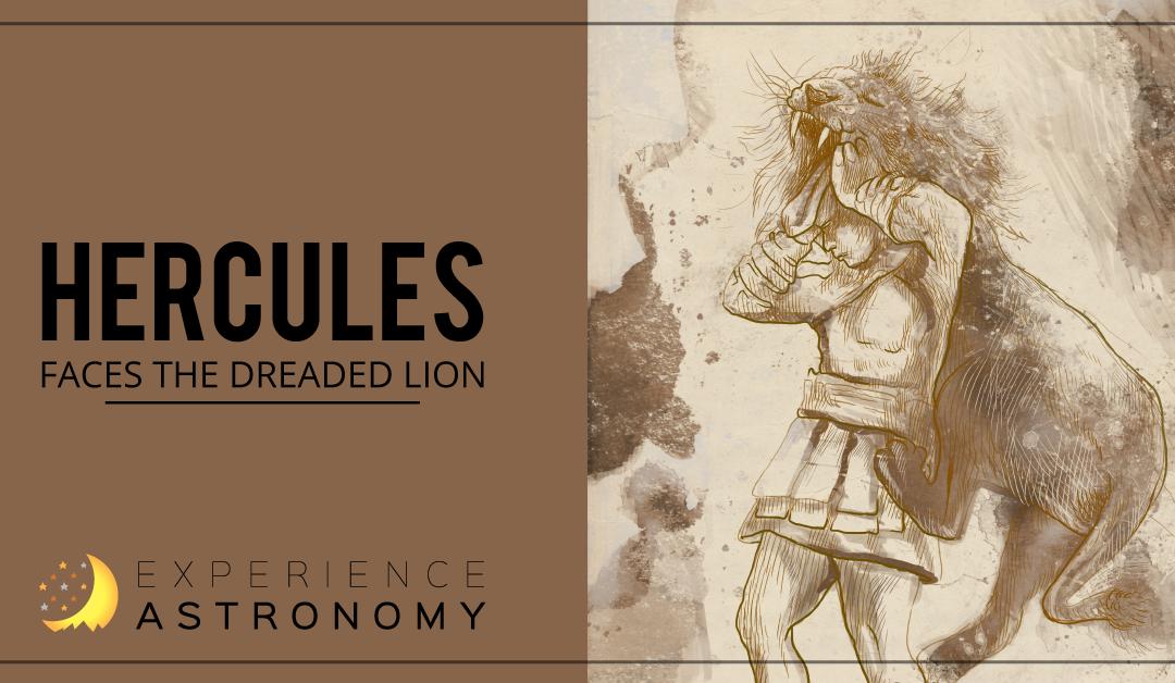 Hercules Faces the Dreaded Lion