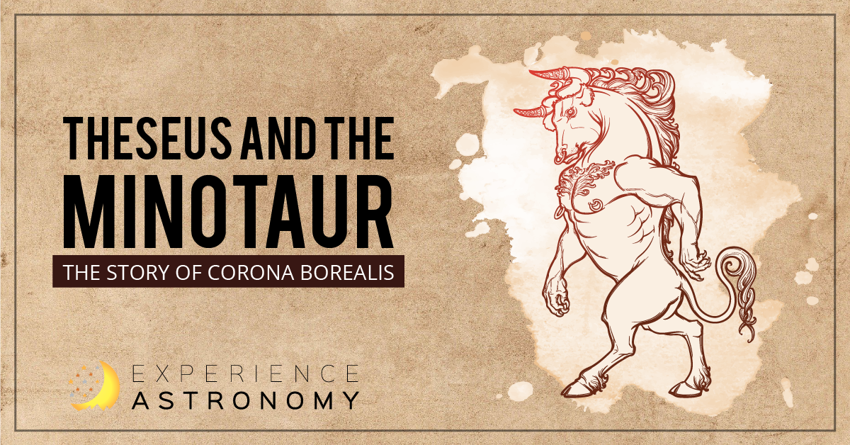 Theseus and the Minotaur: The Story of Corona Borealis